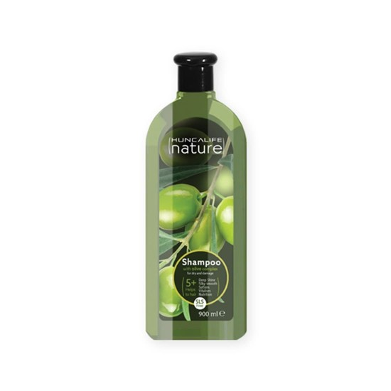 NATURE shampoo with olive complex for dry and damaged hair