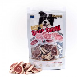 DUCK SUSHI - delicacy for dogs 80 gram