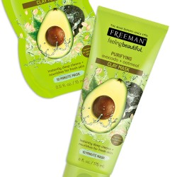 FREEMAN cleansing clay mask - avocado & oats