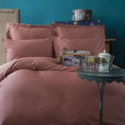 Issimo Copper satin sheet with pillowcases 50 x 70 cm