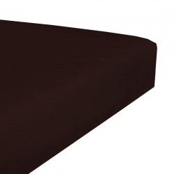 Terry stretch bedsheet - Chocolate