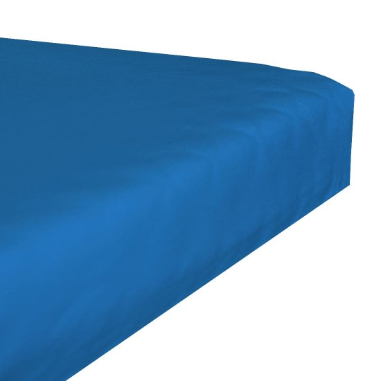 Terry stretch bedsheet - Turquoise