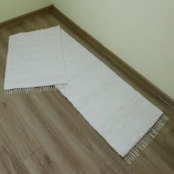 70300A001 - hand-woven rug 70 x 300 cm - Ecru