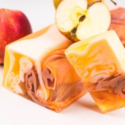 Apple strudel - natural handmade soap