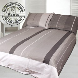 ADELMA cotton bedding - gray