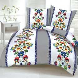FOLK cotton bedding - gray