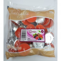 BERRIES scented tealights 30 pcs