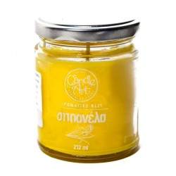 Herbal LEMON Scented Candle in Glass 212 ml