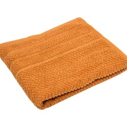 POPCORN light brown - terry towel, bath towel