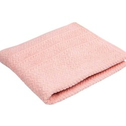 POPCORN light pink - terry towel, bath towel
